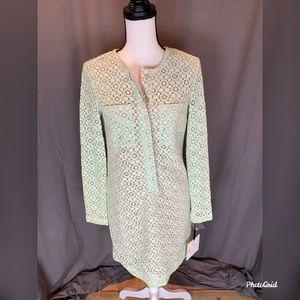 Mint green Victoria Beckham dress size small